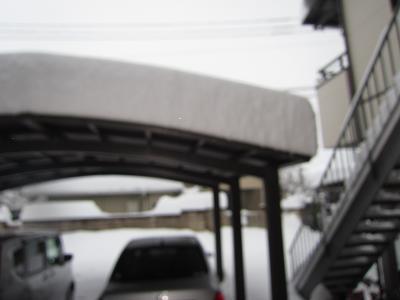 IMG_2193⑩ガレージの雪