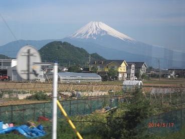 14 5 17伊豆箱根鉄道から見た富士