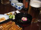 IMG_2686 ④うな重とビール
