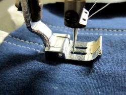 縫い終わり