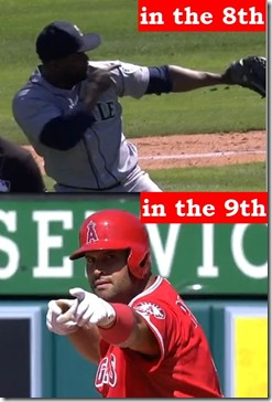 Rodney and Pujols arrows