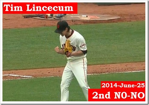 Tim second no-no Jun. 26 22.49