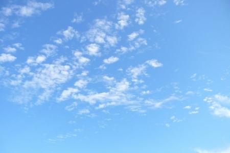 大空と雲・・