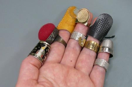 沢山の指輪