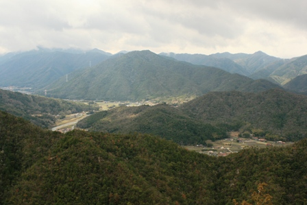 岩山からの眺め