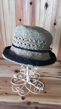 透かし模様の帽子(198-1)