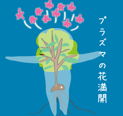 プラズマの花