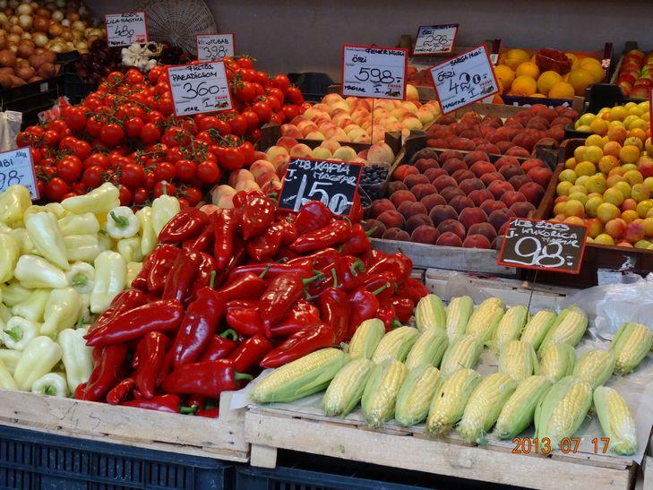 ブタペストの野菜