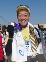 BL140223東京マラソンのゴール後P2230523