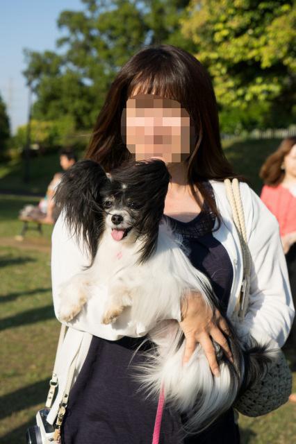「熊猫犬オフ会」番外編 ~あゆりすさんがマリィを抱っこ♪~-004
