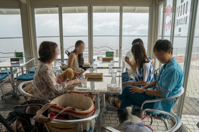 ステンドグラス贈呈オフ会♪ ~海辺のカフェ編~-002