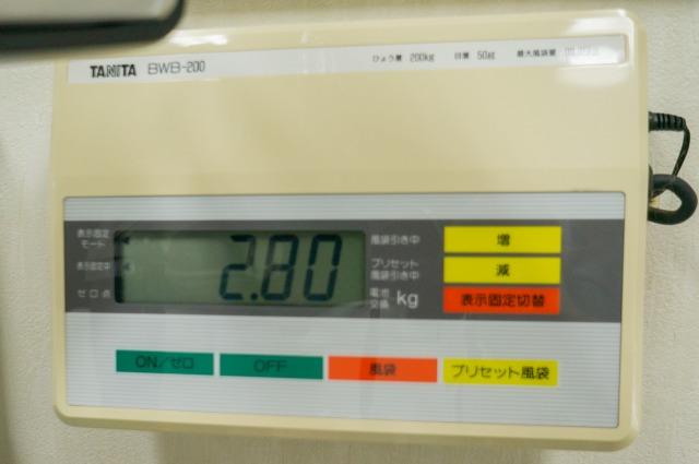 台風接近→岡山通院決行→数値悪化-009