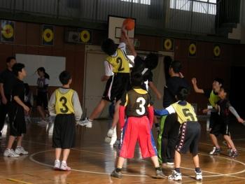 バスケ ジャンプ