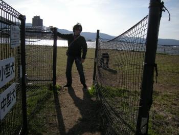 諏訪湖ドッグラン1
