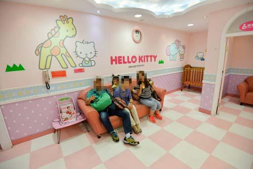 キティの授乳室