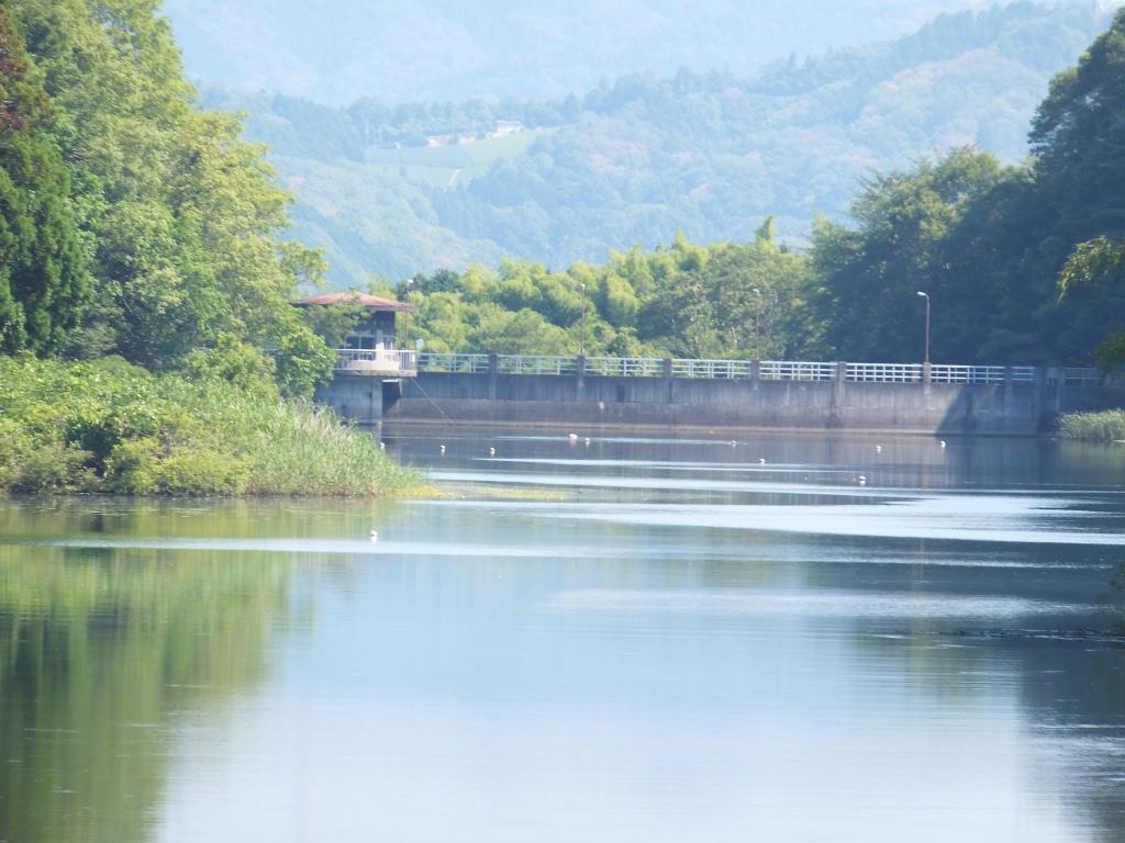 須川ダム湖