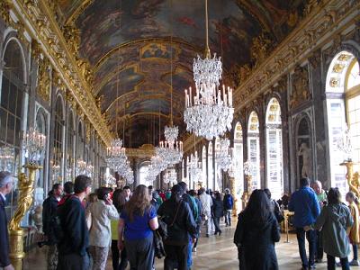 ヴェルサイユ宮殿鏡の間