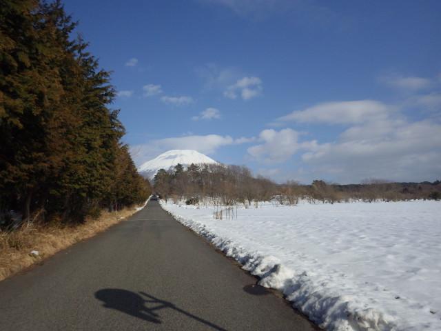 大山は雪に包まれていました