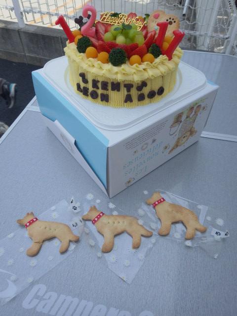 健康ママさん製作の豪華誕生日ケーキ