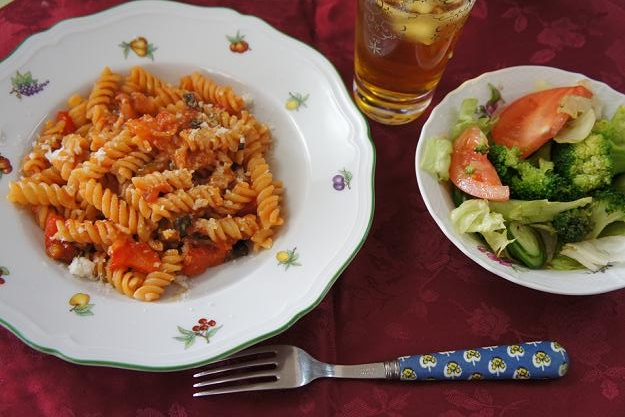 vegetables fusilli 10