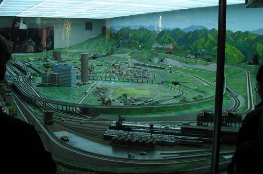 6 交通科学博物館・ジオラマジオラマ模型