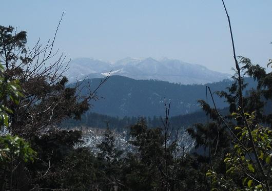 8 栃ケ山から大峰山系