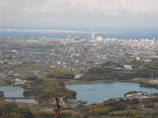 9 雨山から関空方面