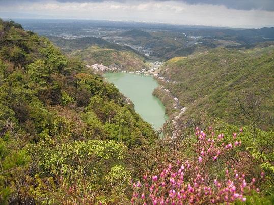 14 永楽ダム方面の展望