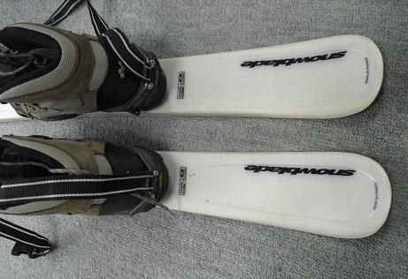 3 軽登山靴の改造