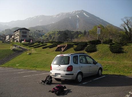 1 大山の駐車場