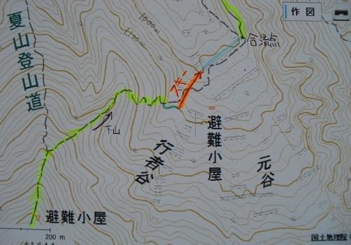 14 スキーのルート図
