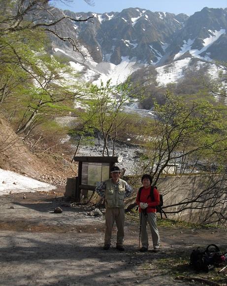 17 元谷から登山道へ登り合流点