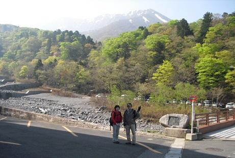 3 夏山登山道の登山口付近