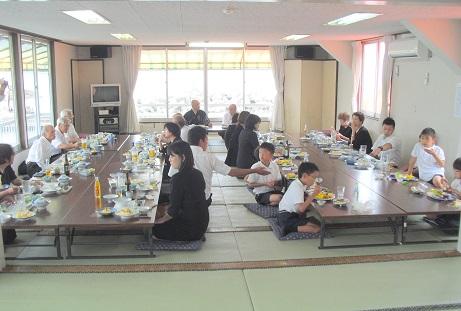 6 食事会
