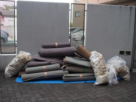 3 廃棄物・カーペット・壁シート