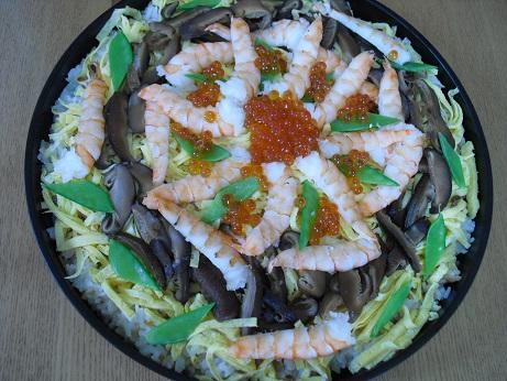 1 ちらし寿司