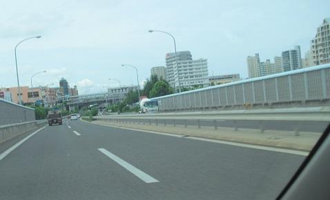 1 阪和自動車・泉北ニュータウン付近