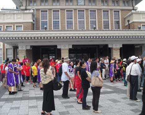 2 JR奈良駅前広場
