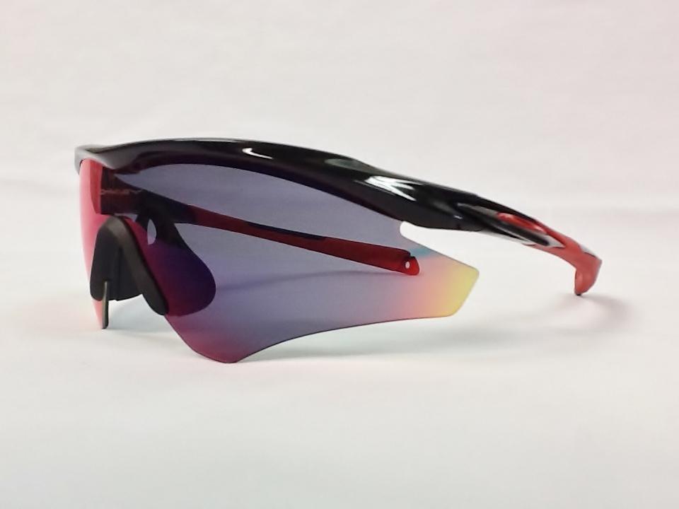 オークリー M2 Frame 品番:OO9254-06 カラー:Pol Blk W/Pos Red Irid