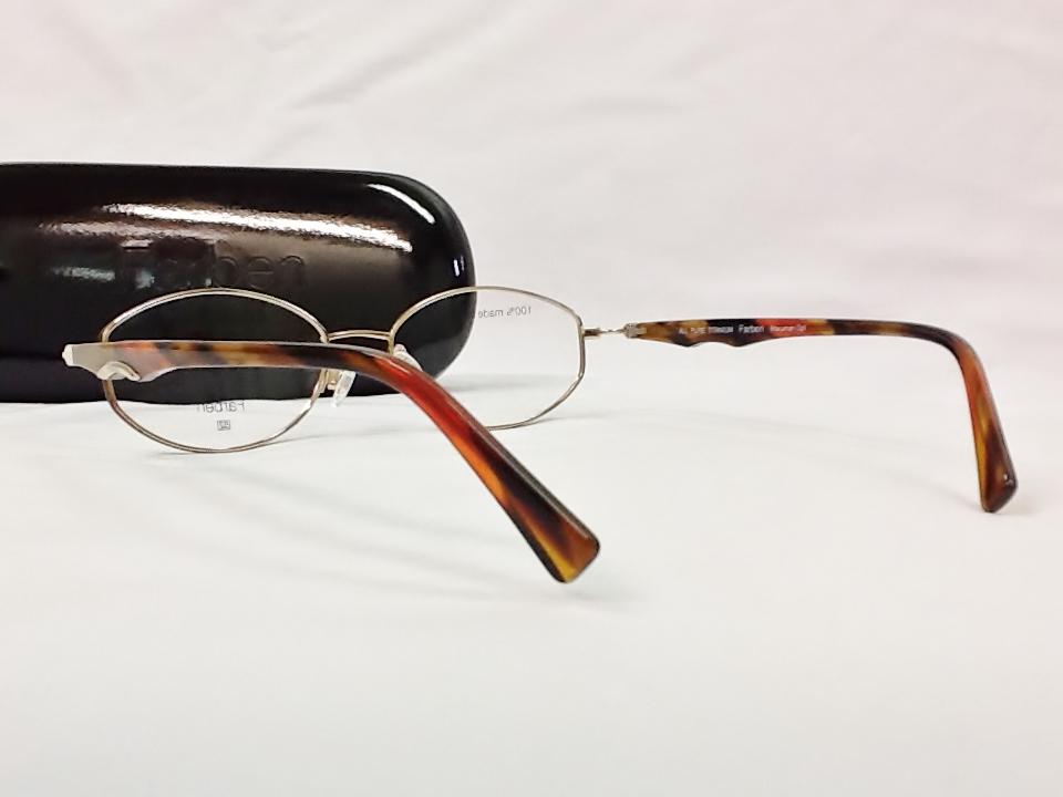 ファルベン メガネ 品番:F7009 カラー:829UG サイズ: 52ミリ