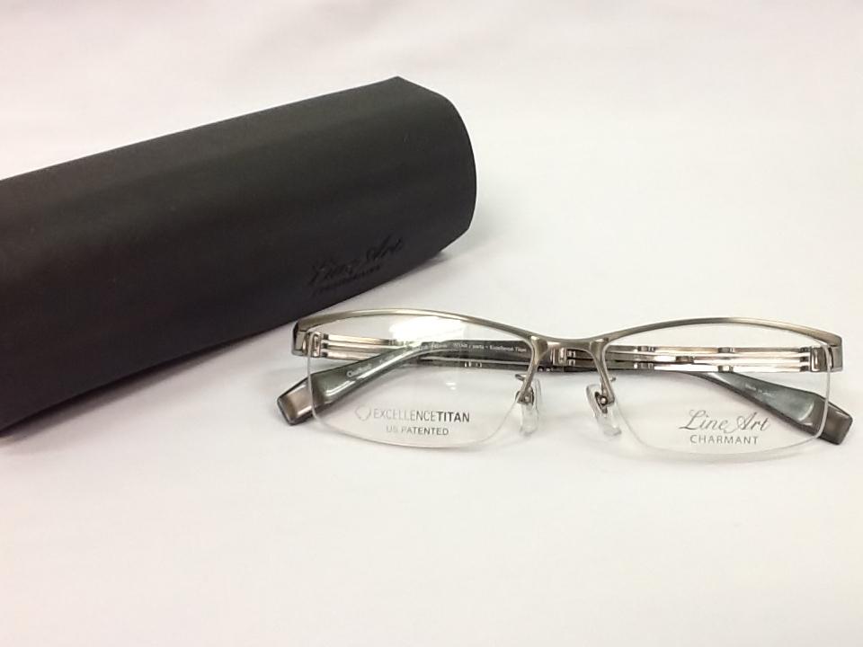ラインアート 品番:XL1086 フレームカラー:LG レンズサイズ:55ミリ