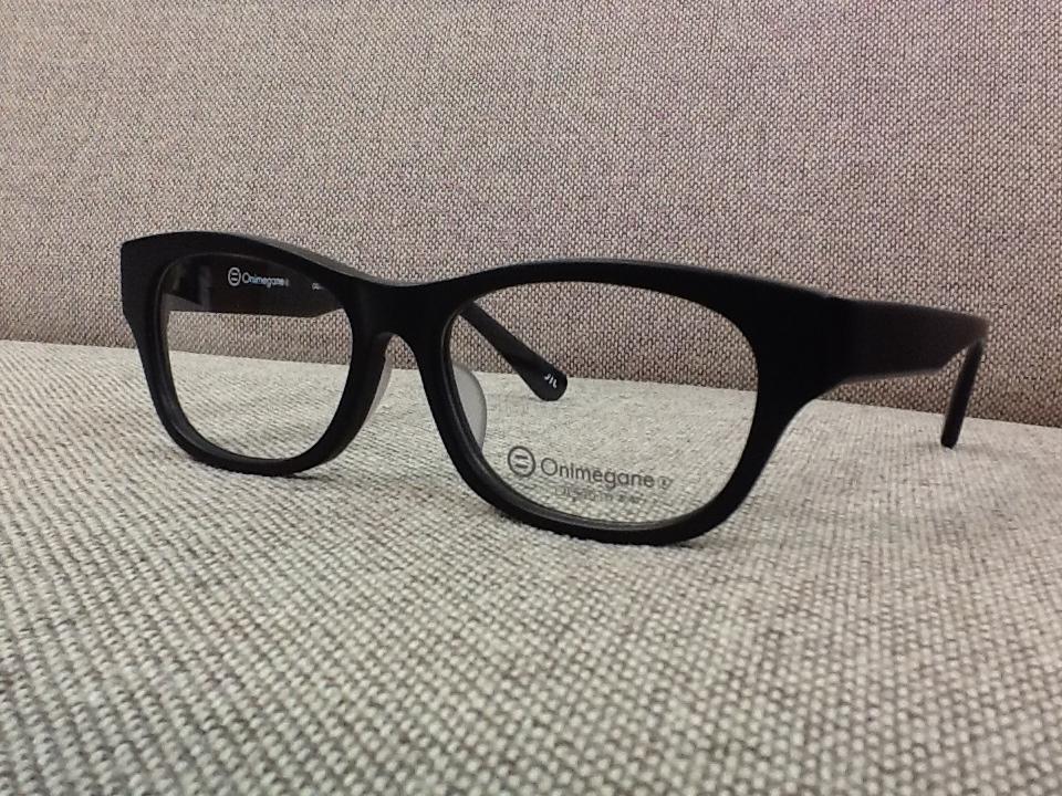 オニメガネ 品番:OG7703 フレームカラー:BKM レンズサイズ:53ミリ