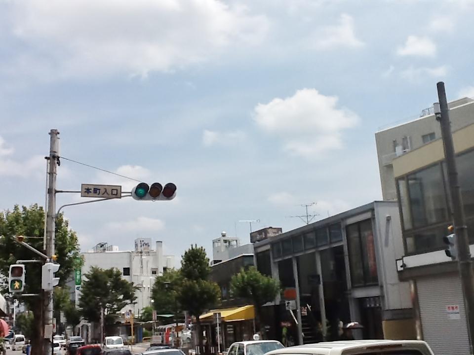 飯塚市本町商店街入口