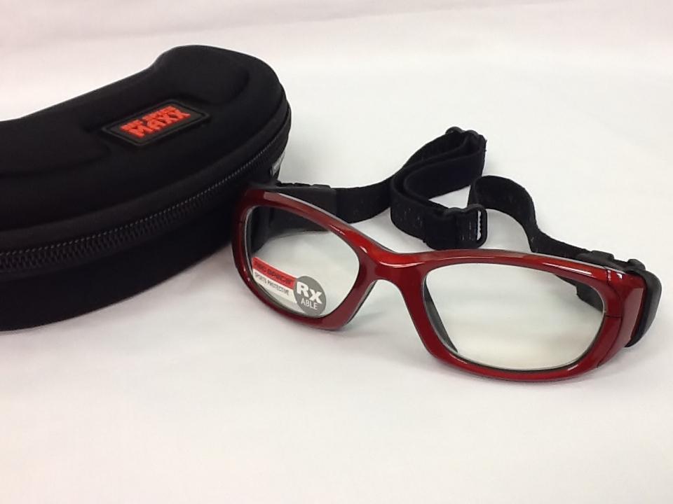 レックスペックス 品番:REC-MX31 フレームカラー:クリムゾンブラック レンズサイズ:53ミリ