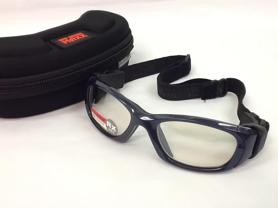 レックスペックス 品番:REC-MX31 フレームカラー:シャイニーネイビーブルー レンズサイズ:53ミリ