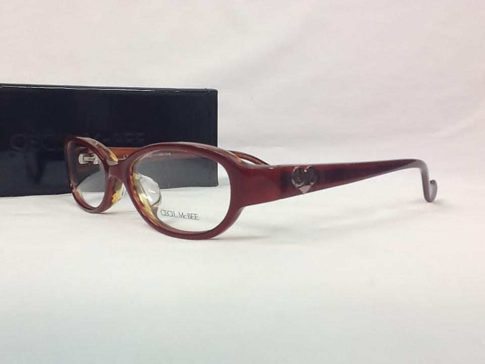 セシルマクビー 品番:CMF-7016 フレームカラー:3(ピンク) レンズサイズ:50ミリ