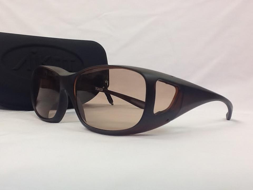 美容グラス AIKOT フレームカラー:MBR レンズカラー:WO レンズサイズ:60ミリ