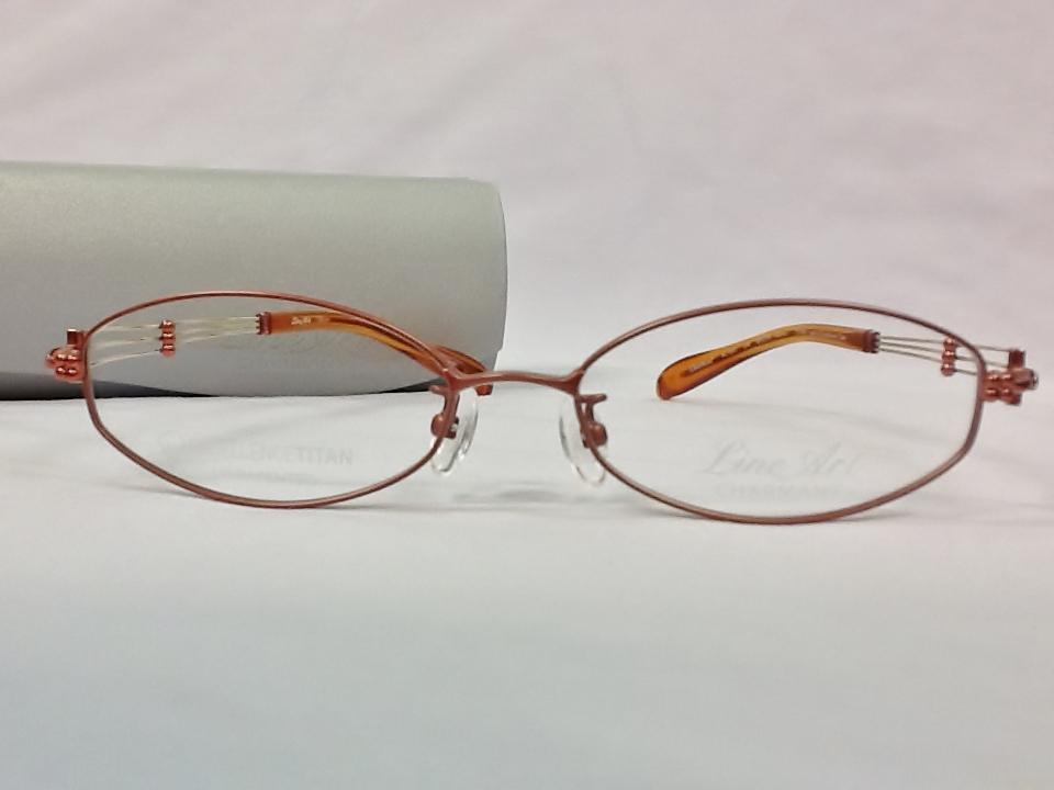 ラインアート 品番:XL1007 フレームカラー:OR レンズサイズ:52ミリ
