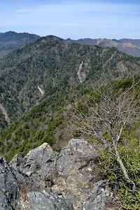禿岩からの眺望