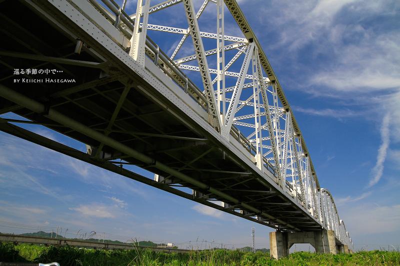 米子市 日野橋 トライアスロンコース